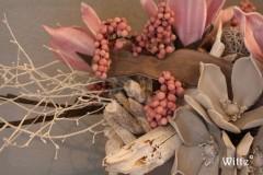 foambloemstuk roze 2