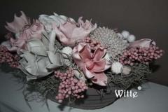 foambloemstuk roze 6 (20x45x20 cm)  € 62,50